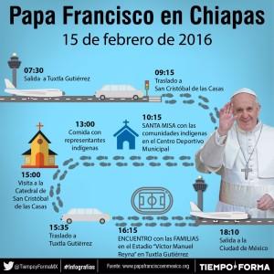 Discorso del Papa in Chiapas