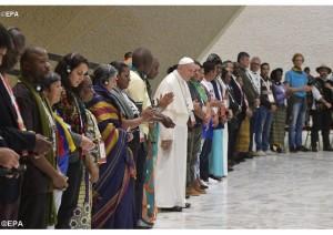 Papa Francisco, um homem de muita coragem!
