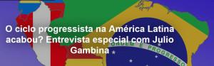 O ciclo progressista na América Latina acabou?