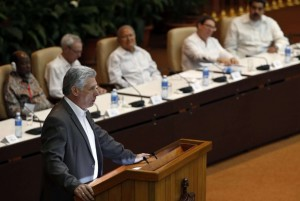 Il presidente cubano Miguel Diaz-Canel  (Ansa)