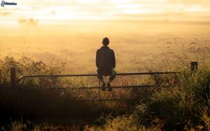 recinzione-ragazza-campo-solitudine-236978